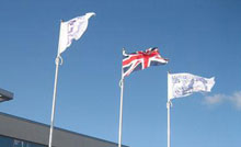 Clubhouse Logoed Flags G1CHL