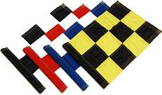 2Ply Sewn Chequered Flags G32PLYse